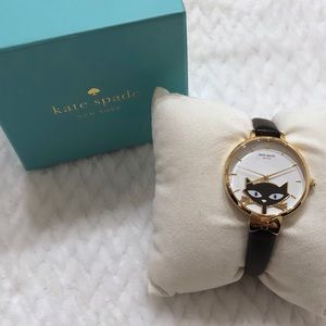 Kate Spade Jazz Cat Metro Watch